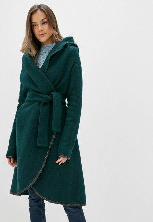 Пальто Alina Assi. Цвет: зеленый