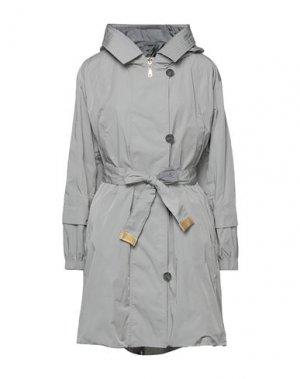 Легкое пальто ADHOC. Цвет: серый