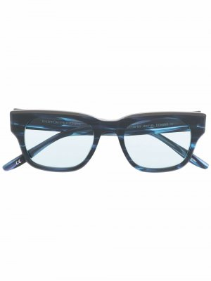 Солнцезащитные очки Vesuvio Barton Perreira. Цвет: синий
