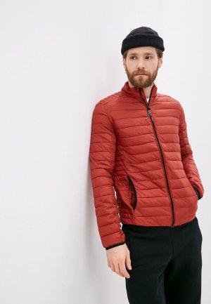 Куртка утепленная Indicode Jeans Adamo. Цвет: оранжевый