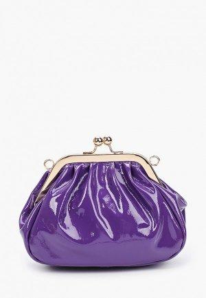 Сумка Alessandro Beato. Цвет: фиолетовый