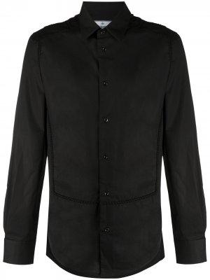 Рубашка с длинными рукавами и вставкой на груди Vivienne Westwood. Цвет: черный
