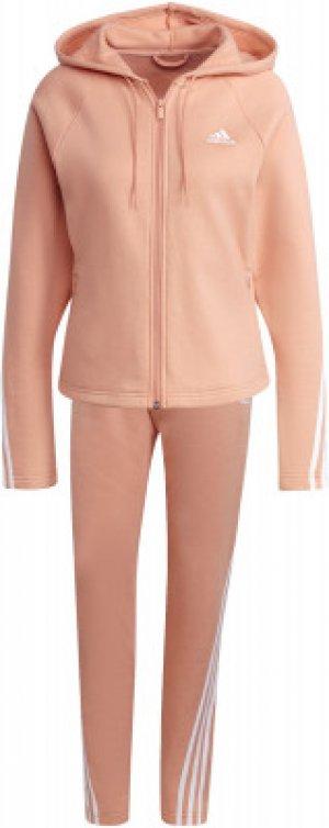 Костюм женский adidas Sportswear Energize, размер 48-50. Цвет: розовый