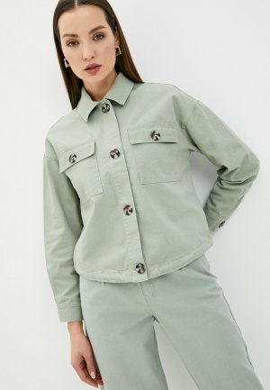 Куртка Love Republic Exclusive online. Цвет: зеленый