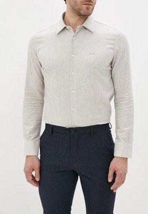 Рубашка Adolfo Dominguez. Цвет: бежевый