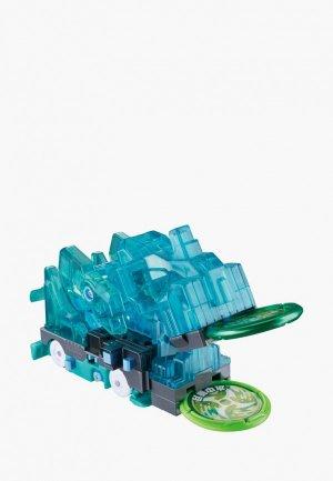 Игрушка Росмэн Дикие Скричеры. Машинка-трансформер Харвест л6. ТМ Screechers Wild. Цвет: бирюзовый