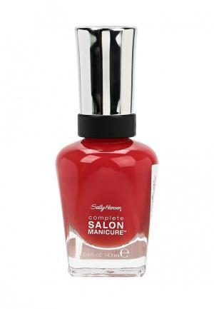 Лак для ногтей Sally Hansen Complete Salon Manicure, 714 Tagine Supreme, 14 мл. Цвет: красный