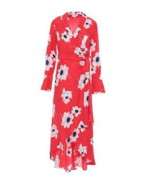 Короткое платье EQUIPMENT. Цвет: красный