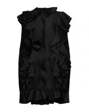 Легкое пальто GIAMBATTISTA VALLI. Цвет: черный