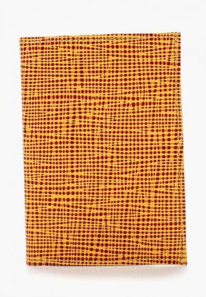 Обложка для паспорта D.Angeny. Цвет: желтый