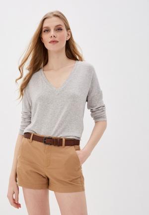 Пуловер Mango - PIKI. Цвет: серый