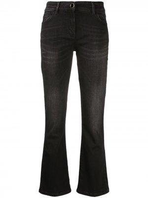Расклешенные джинсы Seventy. Цвет: черный