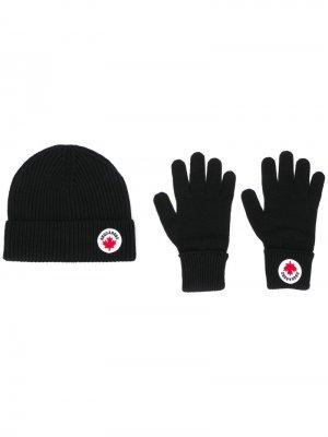 Шапка с перчатками Canada Dsquared2