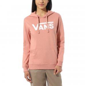 Толстовка Classic V Hoodie VANS. Цвет: розовый
