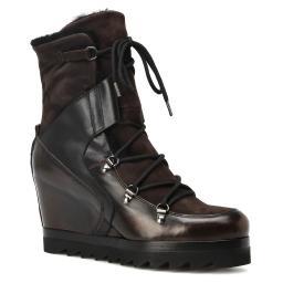 Ботинки 10584 темно-коричневый GIANNI DE SIMONE