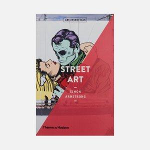 Книга Street Art Thames & Hudson. Цвет: белый