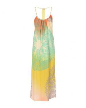 Длинное платье ELLA LUNA. Цвет: желтый
