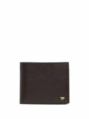 Складной кошелек TOM FORD. Цвет: коричневый