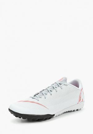 Шиповки Nike VaporX 12 Academy (TF) Mens Artificial-Turf Football Boot. Цвет: серый