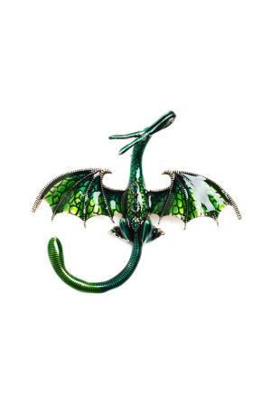 Брошь-кулон FRANSUA ARDY. Цвет: зеленый