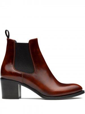 Churchs Shirley 55mm polished ankle boots Church's. Цвет: коричневый