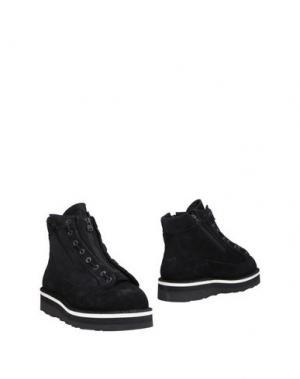 Полусапоги и высокие ботинки DANNER. Цвет: черный