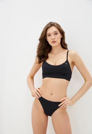 Плавки PUMA WOMEN BIKINI BRIEF 1P. Цвет: черный