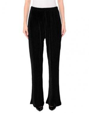 Повседневные брюки GLAMOROUS. Цвет: черный
