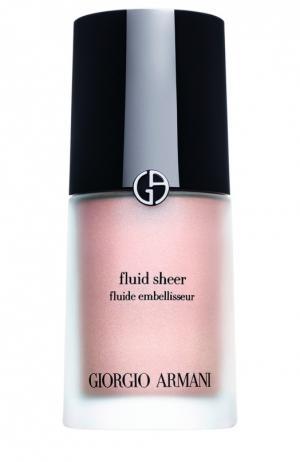 Fluid Sheer флюид для сияния кожи оттенок 7 Giorgio Armani. Цвет: бесцветный