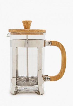 Кофейник Walmer BAMBOO, 0.8 л. Цвет: прозрачный