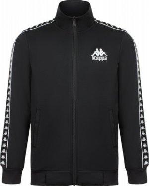 Олимпийка для мальчиков , размер 164 Kappa. Цвет: черный