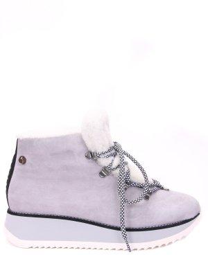 Ботинки замшевые на меху JUDARI