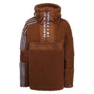 Анорак Teddy adidas x Ivy Park Originals. Цвет: коричневый