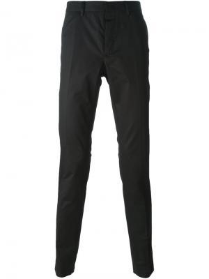Классические брюки чиносы Lanvin. Цвет: чёрный