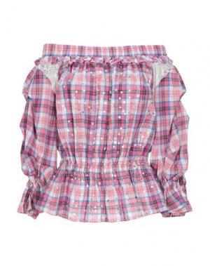 Блузка 8PM. Цвет: розовый
