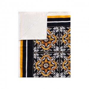 Хлопковое полотенце Dolce & Gabbana. Цвет: разноцветный