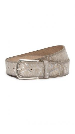 Embossed Metallic Belt B.