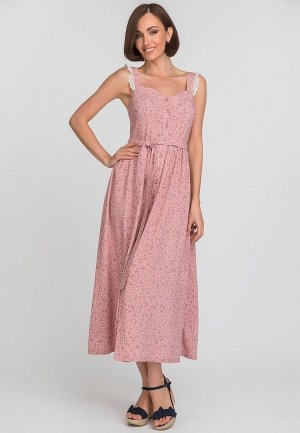 Сарафан Gloss. Цвет: розовый