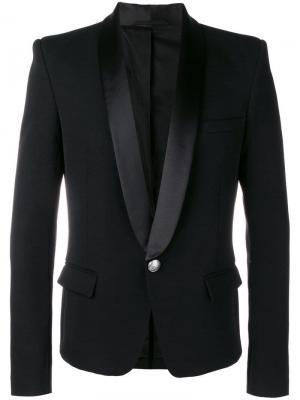 Пиджак-смокинг Balmain. Цвет: черный