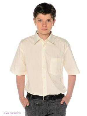 Рубашка Davani. Цвет: молочный