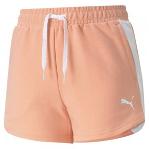 Детские шорты Modern Sports Youth Shorts PUMA. Цвет: розовый