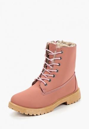 Ботинки Trien. Цвет: розовый