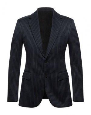 Пиджак VERSACE. Цвет: темно-синий