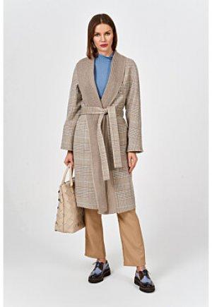Клетчатое пальто Elema