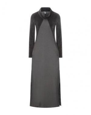 Длинное платье EUROPEAN CULTURE. Цвет: свинцово-серый