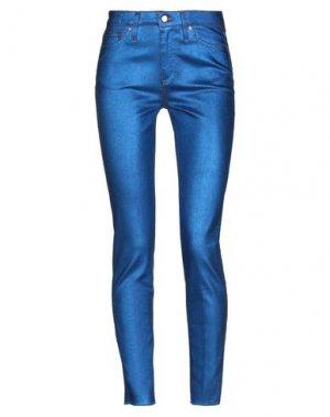 Джинсовые брюки DON THE FULLER. Цвет: ярко-синий