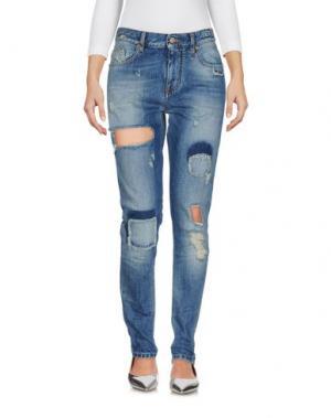 Джинсовые брюки MAISON CLOCHARD. Цвет: синий