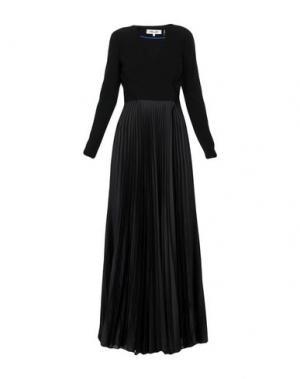 Длинное платье DIANE VON FURSTENBERG. Цвет: черный