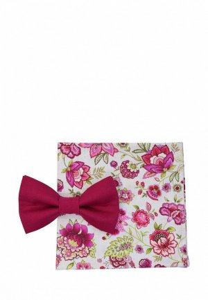 Бабочка и платок Rainbowtie. Цвет: разноцветный