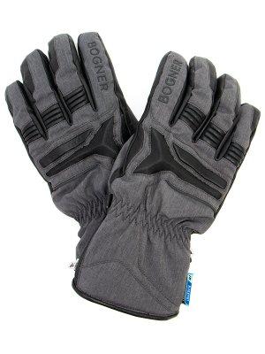 Перчатки горнолыжные BOGNER. Цвет: серый